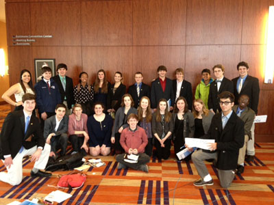 Model UN Club attends Johns Hopkins Conference