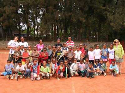 Advantage Ethiopia: Kids Tennis and Education Initiative Gives Kids Opportunity for Better Education and to Play Tennis