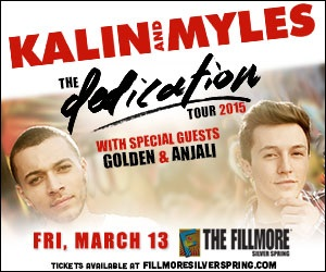 Retweet and follow @TheWJPitch to be entered to win two free tickets to see Kalin and Myles or Andy Grammer at the Filmore Silver Spring