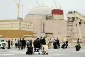 Bushehr Nuclear Power Plant in Iran