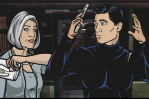 Archer: James Bond, Ron Burgundy and Oedipus Rolled Up in One