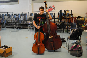 Musical Excellence: Sophomore Sammy Levine Nominated to All-Eastern Ensemble