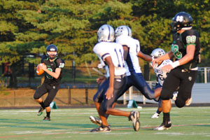 WJ Football Falls Short to Magruder in Opening Game