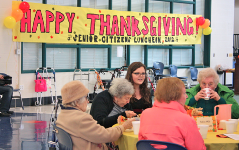 Bringing Thanksgiving to WJ: The Annual Senior Citizen Luncheon