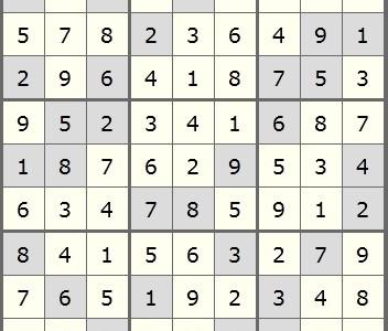 December Print Issue Sudoku Answer Key