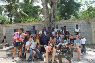 WJ students in the Dominican Republic this summer.