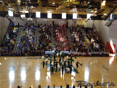 Pompons Win County Competition