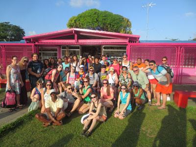 Sophomores Explore the World Through Spring Break Trips