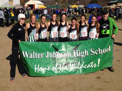 Girls Cross Country ended their season by winning the state championship for the second year in a row.