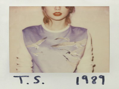 Taylor Swift's new album, 1989, has a new look for her new image.