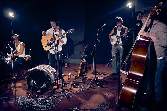 Mumford & Sons' latest album is slated to be released in May.