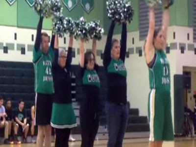 Teacher Poms Become Official WJ Sports Team