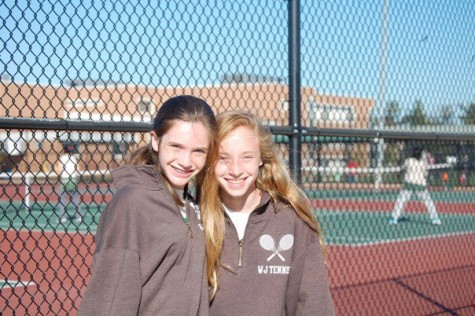 Undefeated girls' tennis emerges victorious from county finals