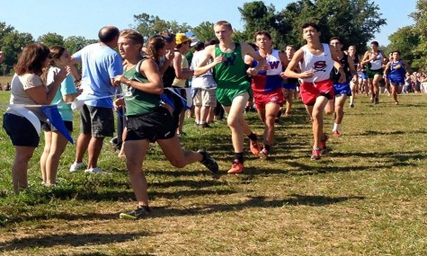 WJ girls' cross country wins county championship
