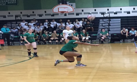 Girls' Volleyball blasts Einstein, Falls to Churchill