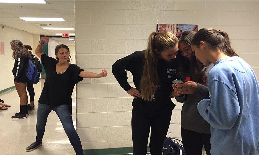 Teachers take ninja tag