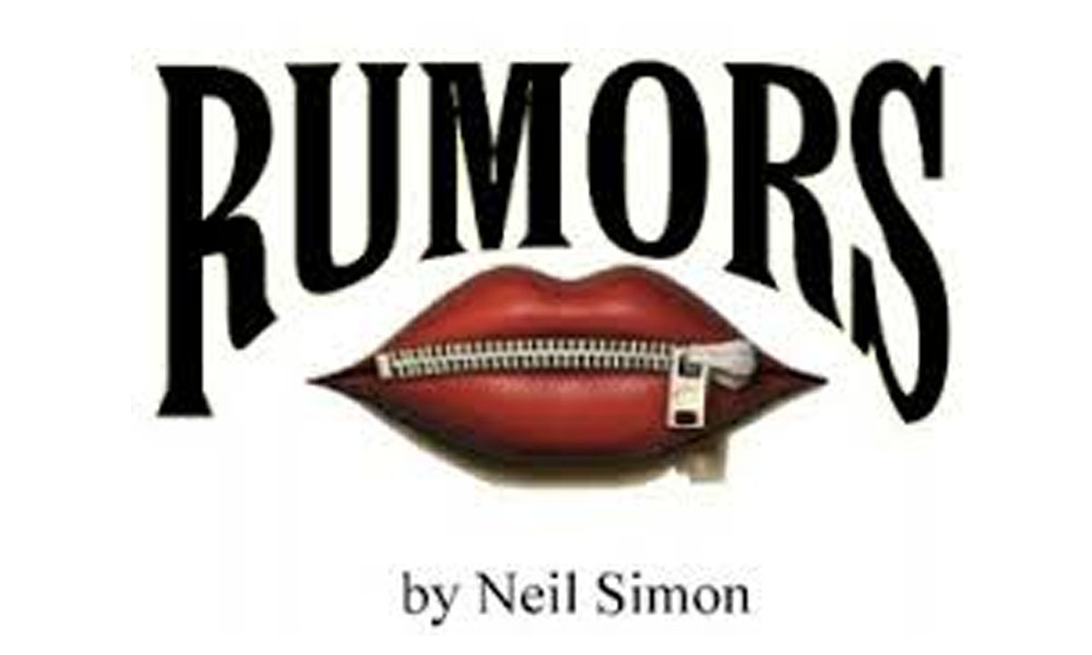 "Click here to find out more about the fall play ""Rumors"""