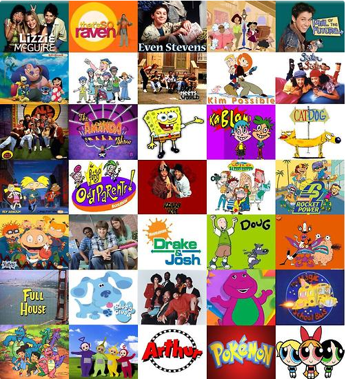 What childhood TV show are you?