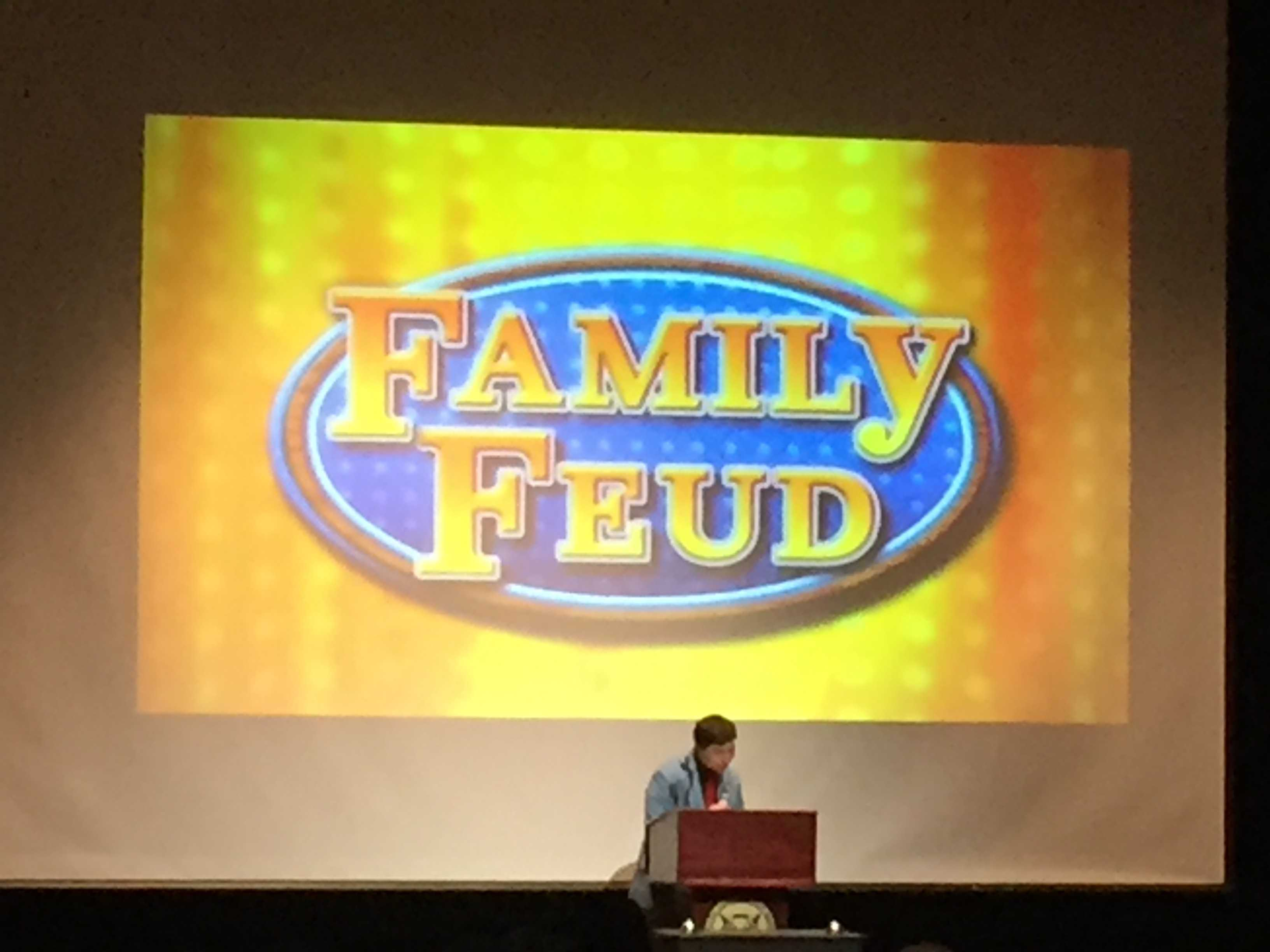 Family Feud creates competition, benefits charity