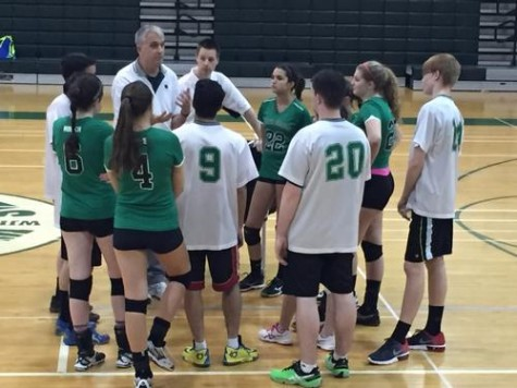 Coed Volleyball on the move