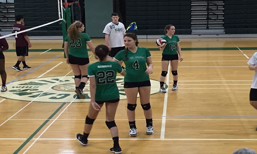 Volleyball looks to end on high note