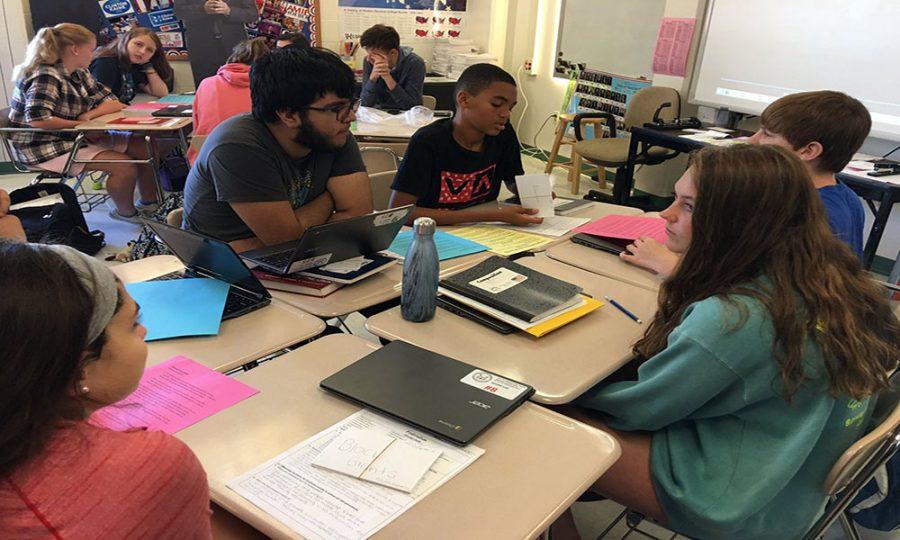 Students explore character