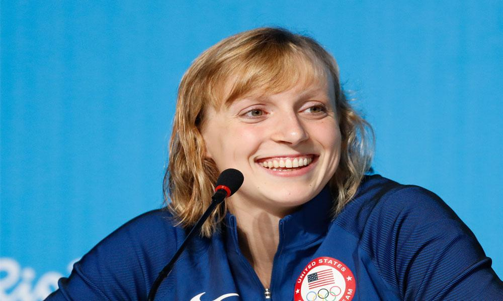 Katie Ledecky makes big splash in Bethesda area