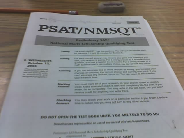 PSAT schedule wastes valuable learning time
