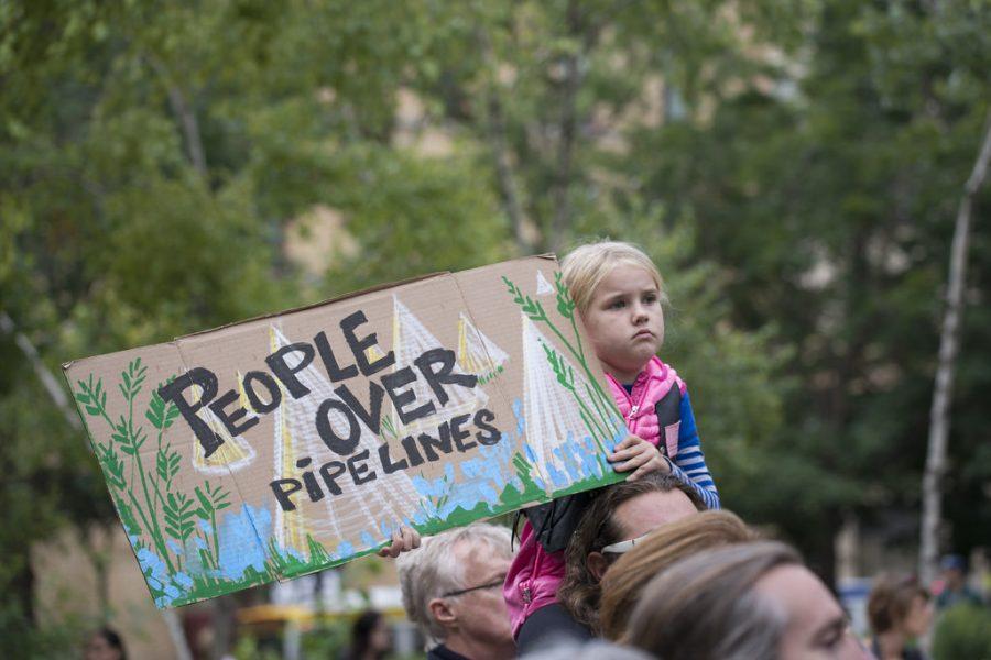 The Dakota Access Pipeline divides a nation