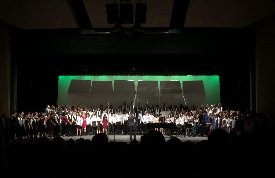 Choral groups enchant at winter concert