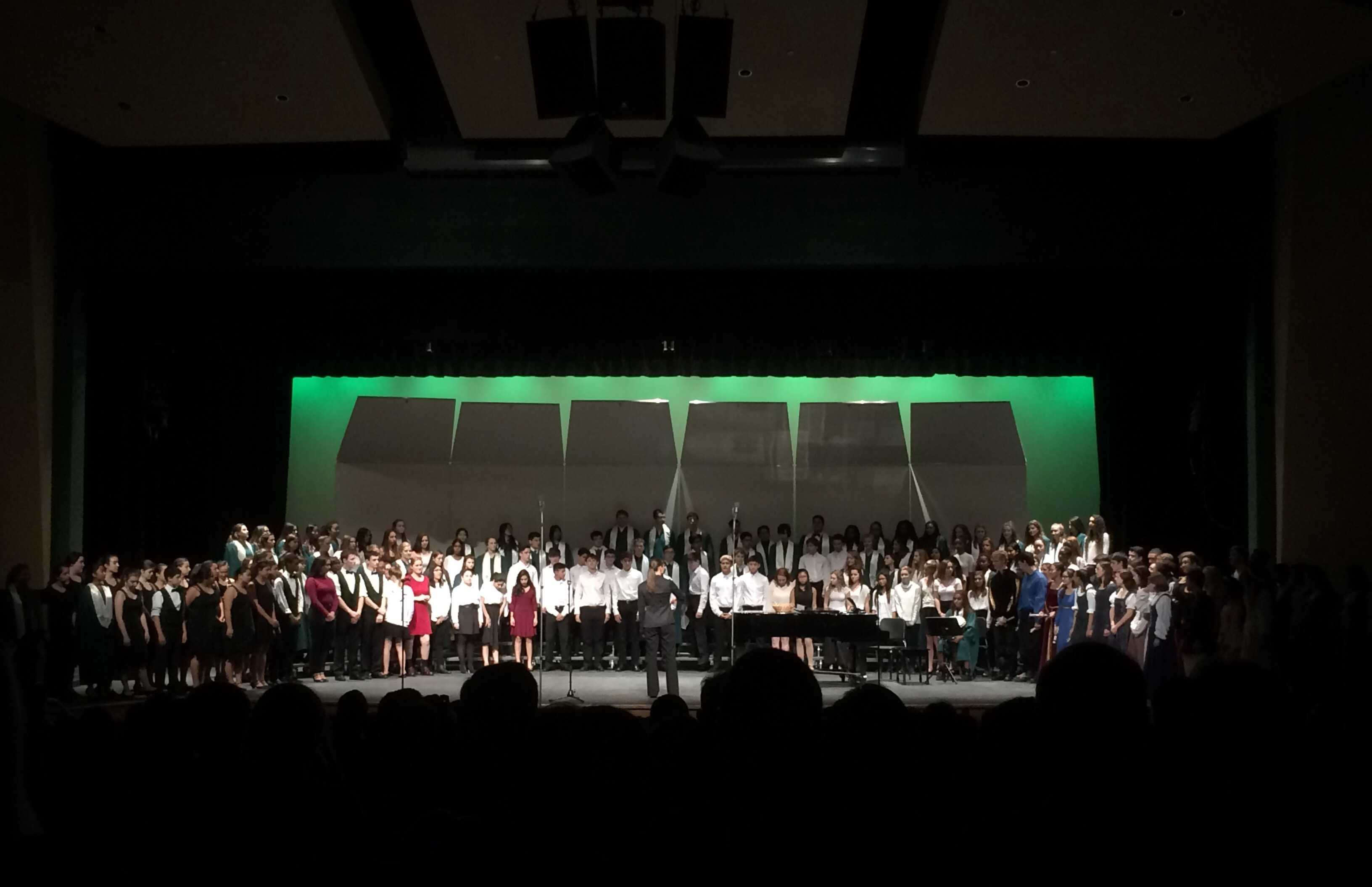Choral groups enchant at winter concert