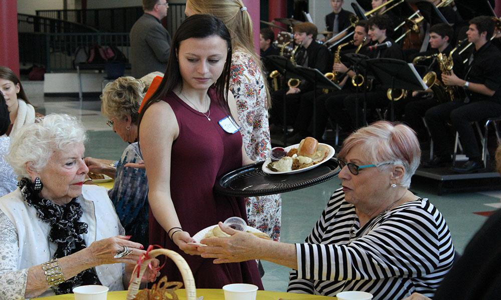 Key club hosts senior luncheon