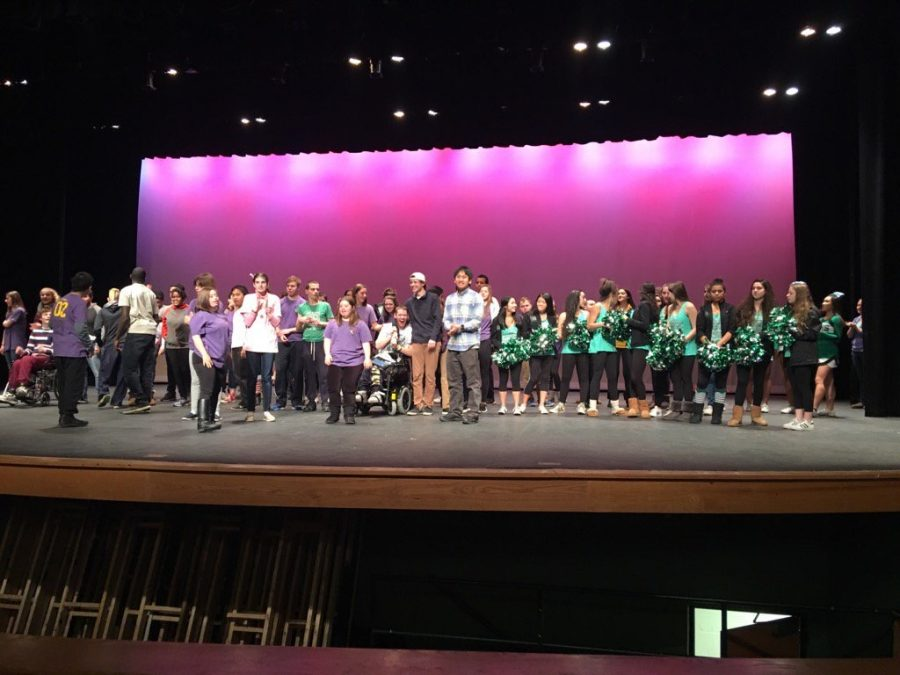 Best Buddies assembly impresses and inspires