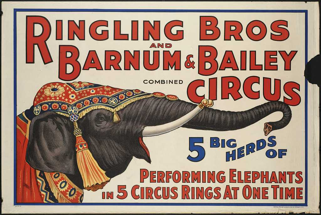 Ringling Bros. and Barnum & Bailey to end in May