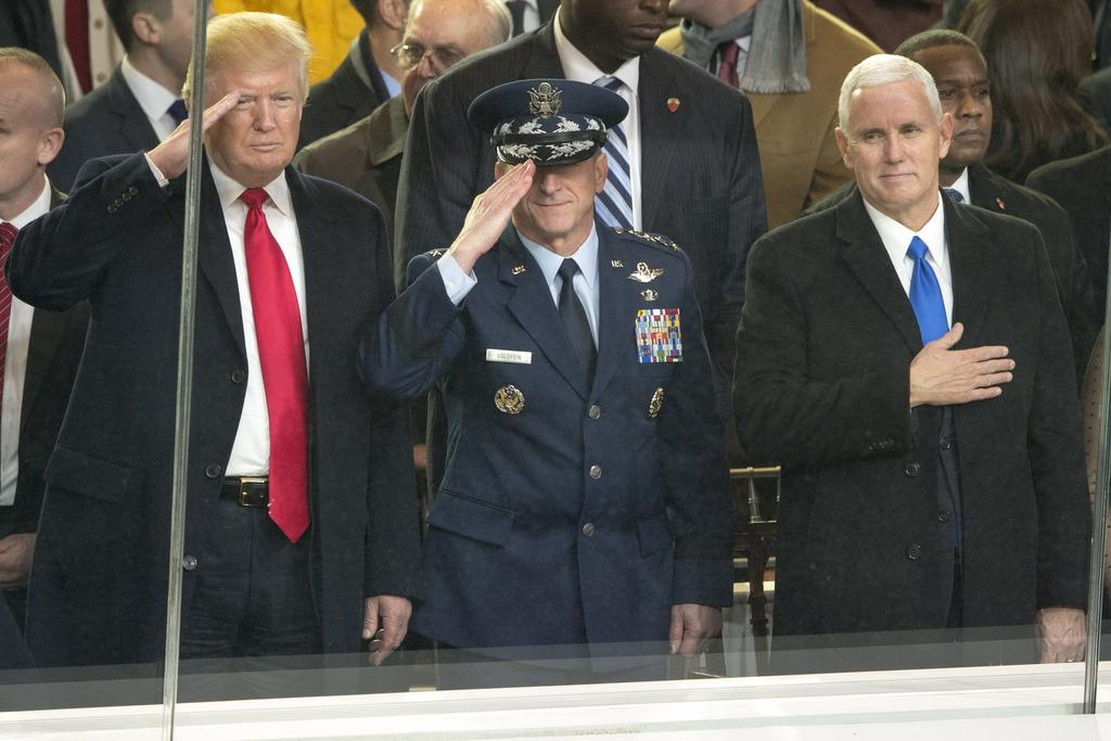 The military-industrial complex and Donald Trump