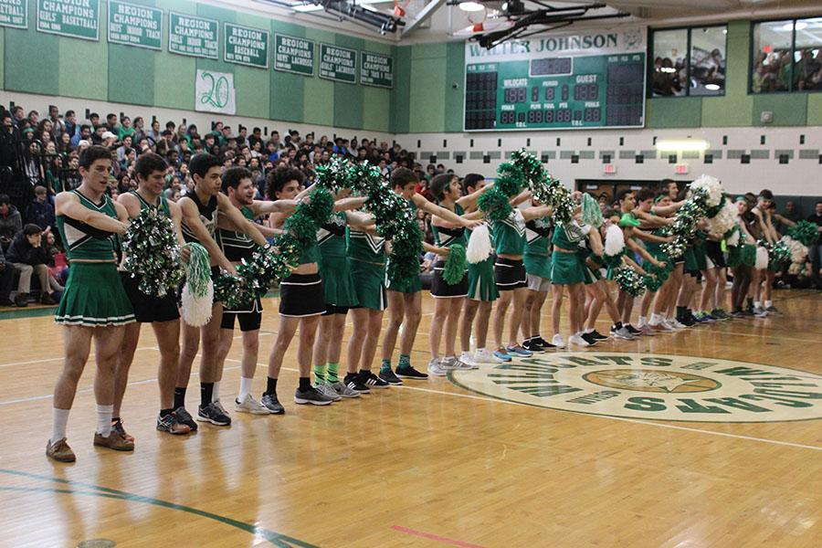 WJ's spring pep rally heats up excitement for spring season