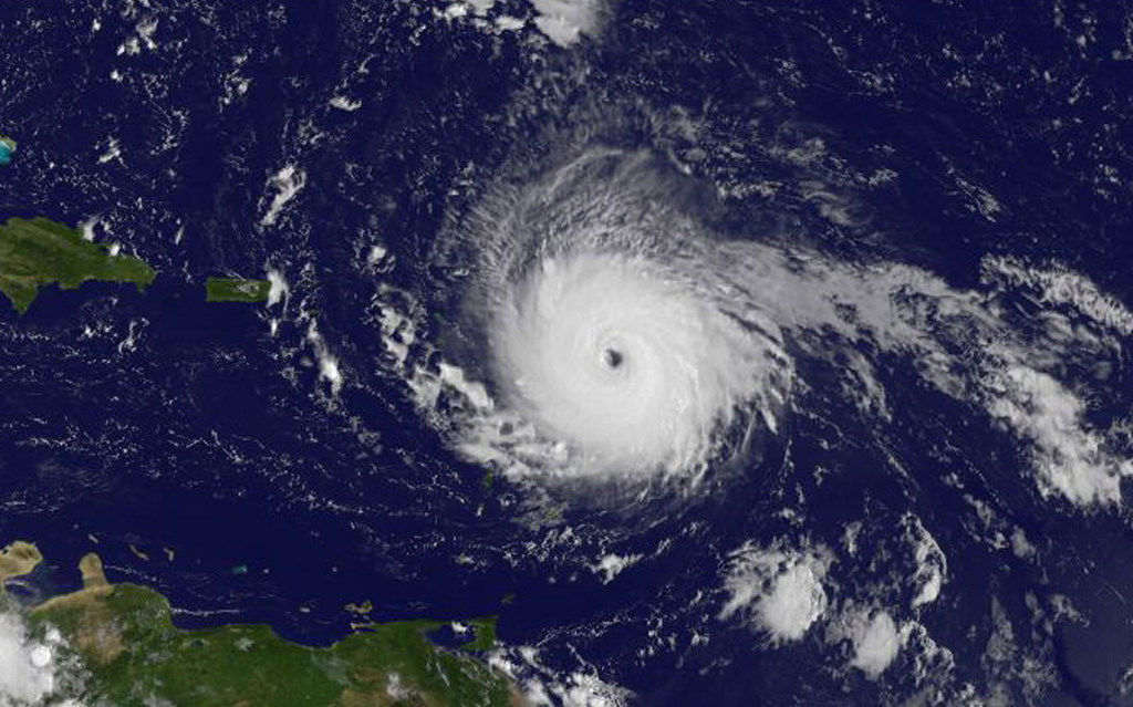 Americas rocked by three Hurricanes