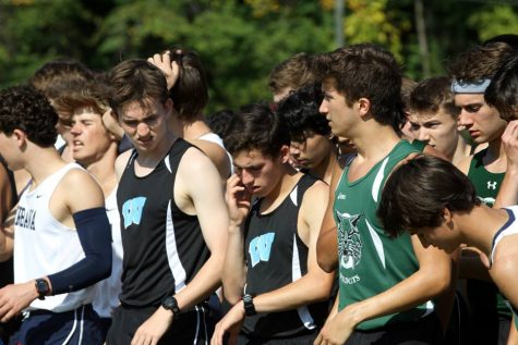 Boys' cross country on the run to states