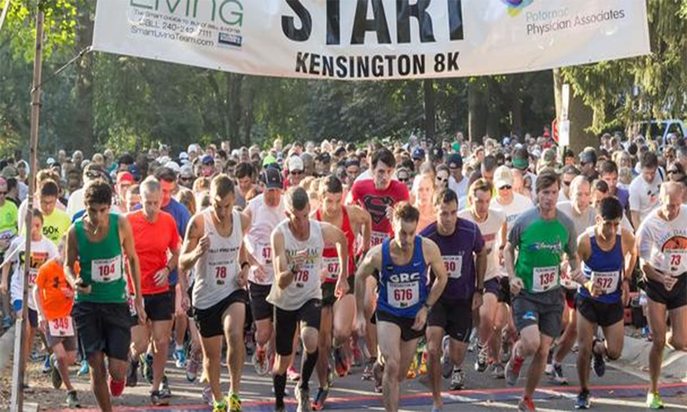 Annual Kensington 8K held