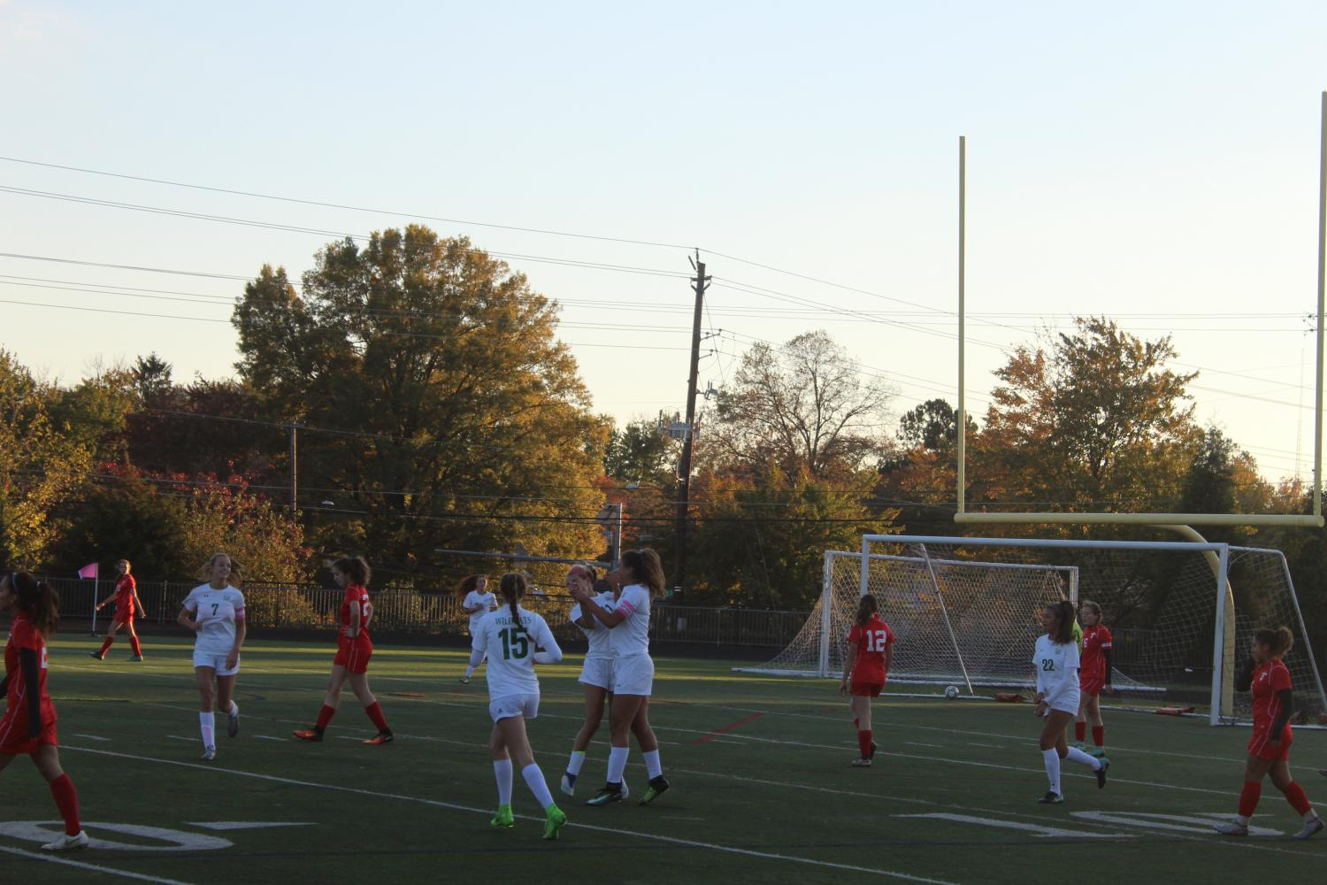 Girls soccer playoffs v. Einstein