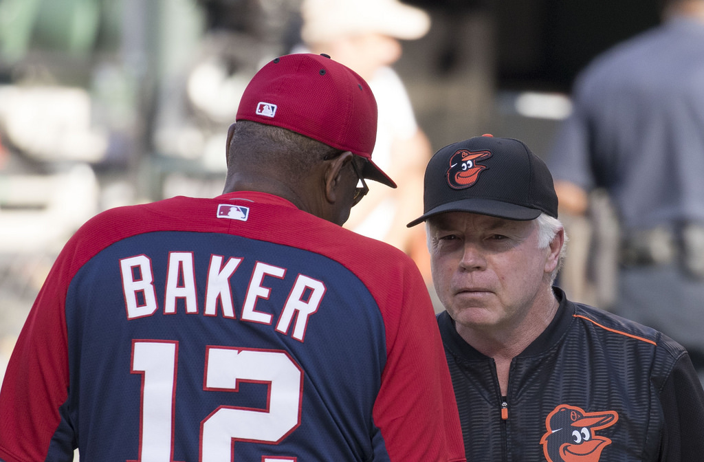 Nationals fire manager Dusty Baker