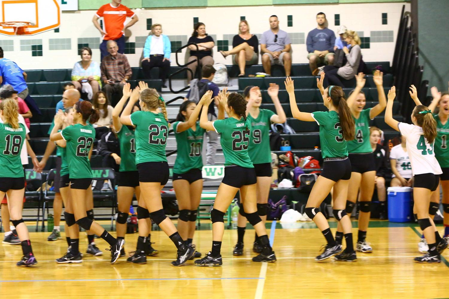 Girls' Volleyball Surges