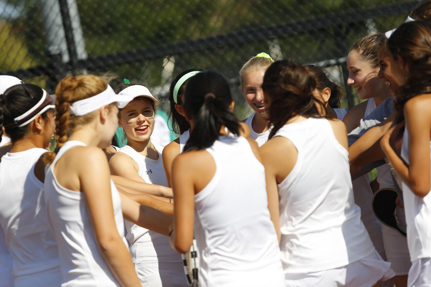Girls' tennis quickly bounces back from scrimmage loss
