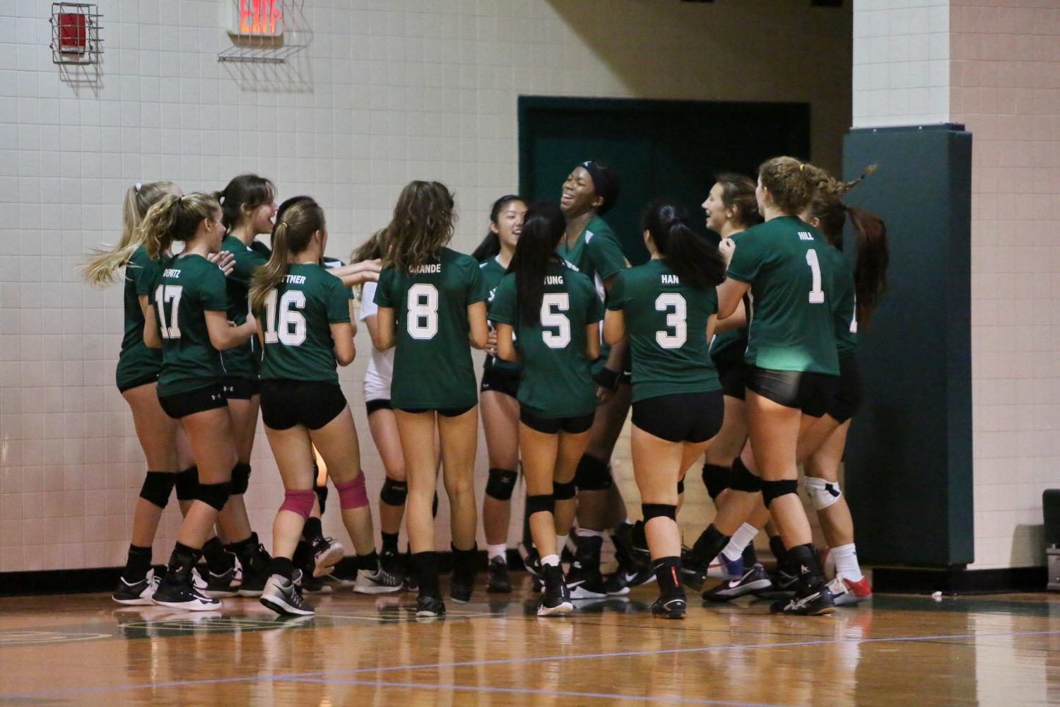 Girls' Volleyball finishing on a high note