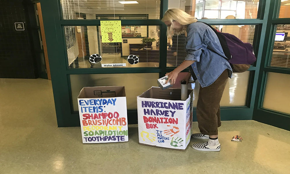 """It All Matters"" club hosts supply drive"