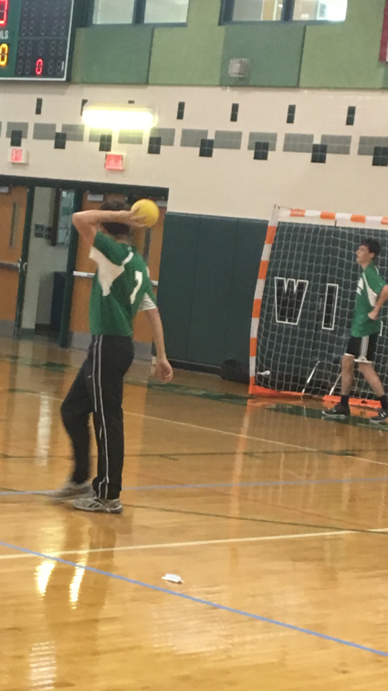 Handball gains motivation against Montgomery Blair