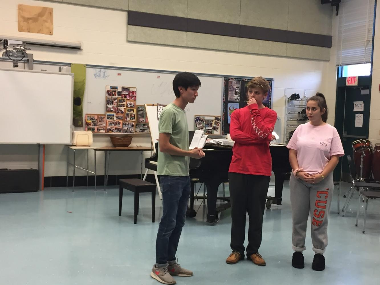 WJ S*T*A*G*E prepares for fall show