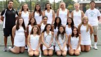 Girls' tennis team starts off season with success