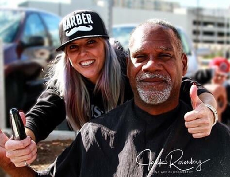 MD hairstylist gives free haircuts to the homeless