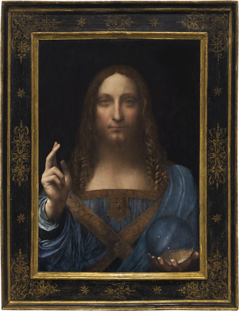 Da Vinci painting breaks art records in high price auction sale